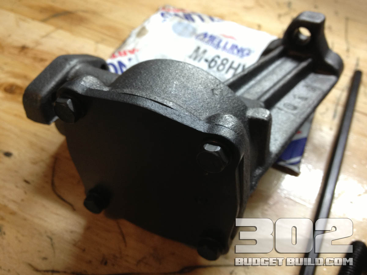 302-oil-pump-and-screen-installation-02 | 302 Budget Build