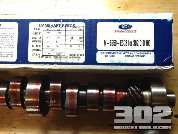 Ford racing camshaft E303