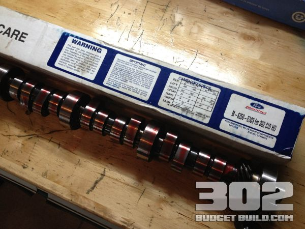 Ford racing camshaft E303