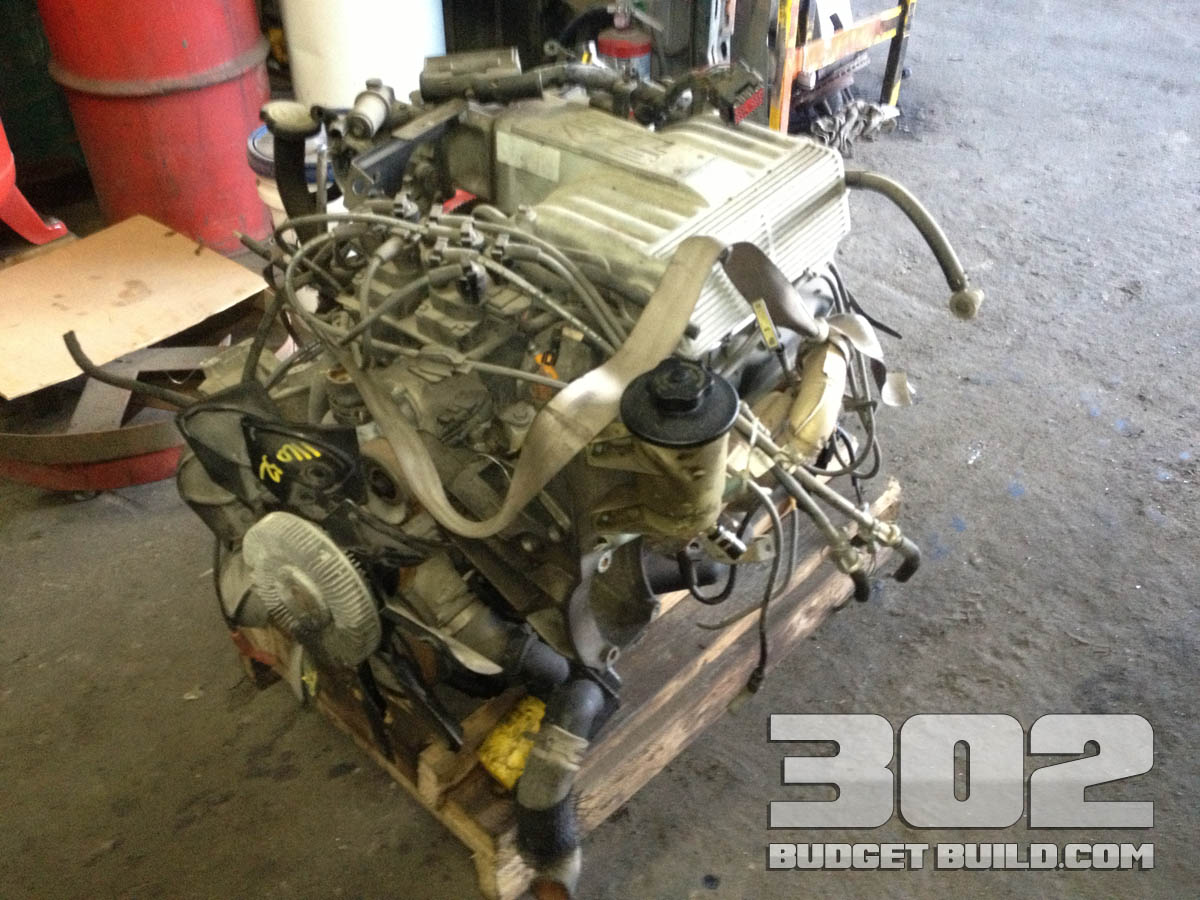 The donor roller 302 small block ford engine 302 budget build building the 302 5 0 engine on a budget