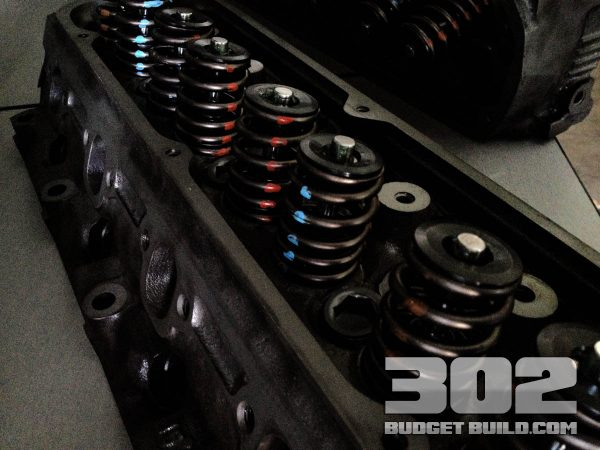 Here are the GT40P heads after a fresh machine job. They look new and shiny.