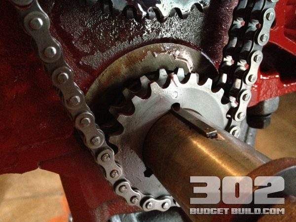 How to install a Double Roller Timing Chain Set & Gears on a Small Block Ford