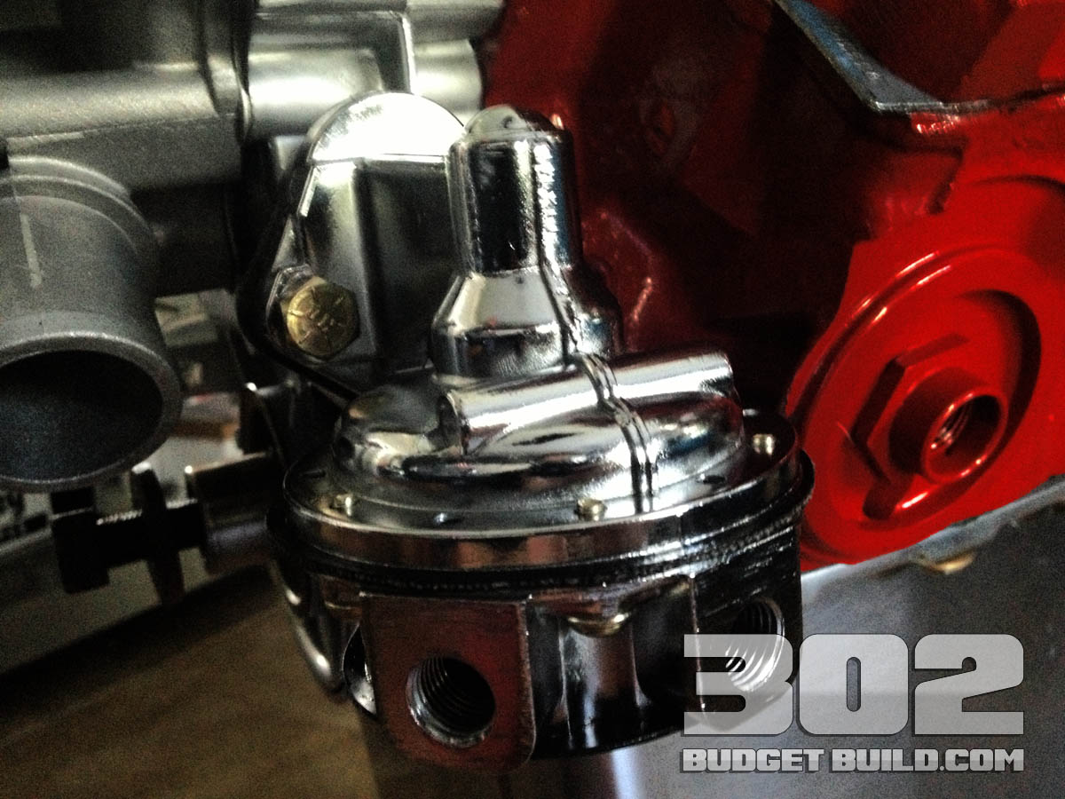 How To Install Mechanical Fuel Pump On Small Block Ford 302 1969 F100 Engine Holley 12 833