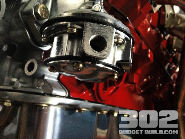 How To Install Mechanical Fuel Pump on Small Block Ford 302   Holley 12-833