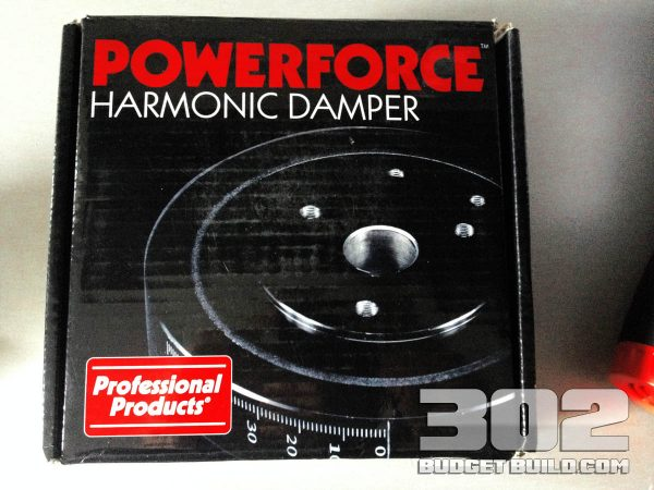 Professional Products Harmonic Balancer (damper) part number: 80007
