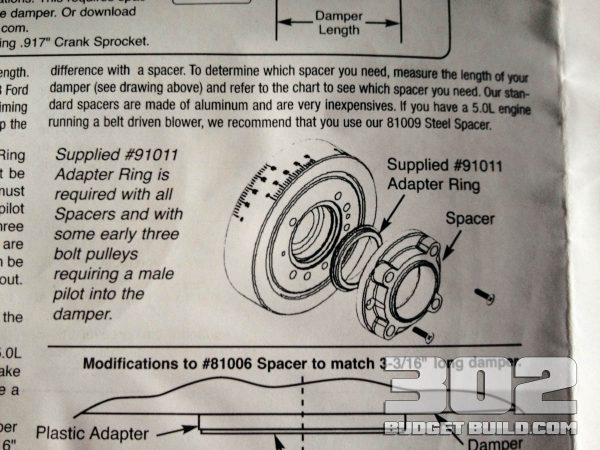 How To Install a Harmonic Damper (balancer) on a Small Block Ford 302
