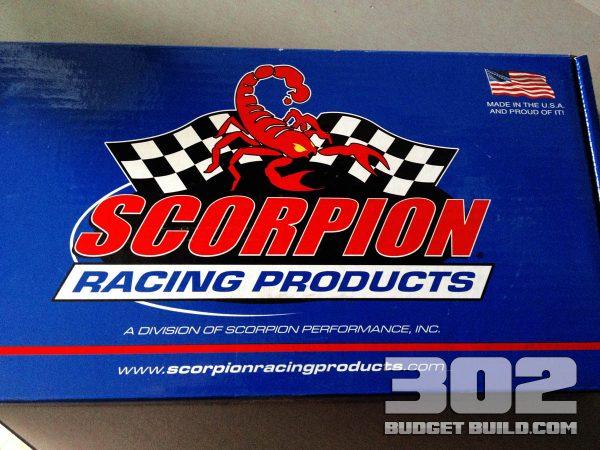 Scorpion 1.6 ratio roller rockers installed