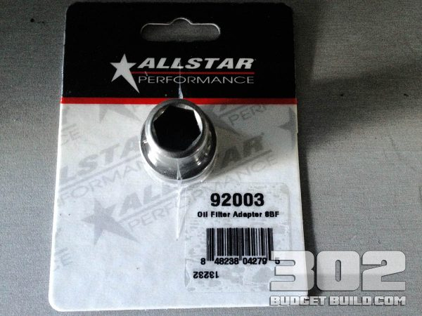Installing the Oil Filter Adapter on Small Block Ford 302 Part Number: 92003 by Allstar