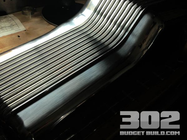 Aluminum oil pan for the small block ford 302 5.0