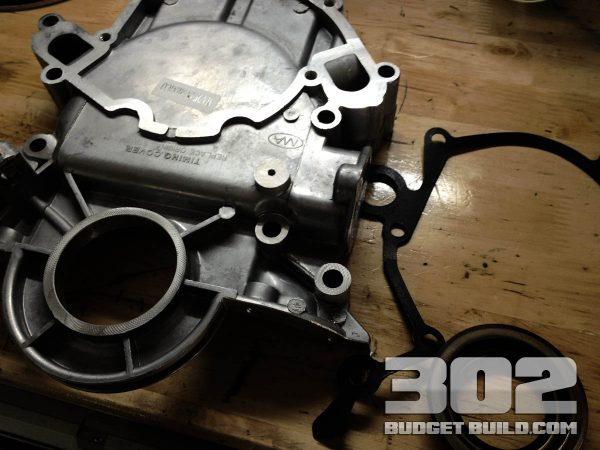Timing Cover & Water Pump Installation Stage 1 | Small Block Ford 302
