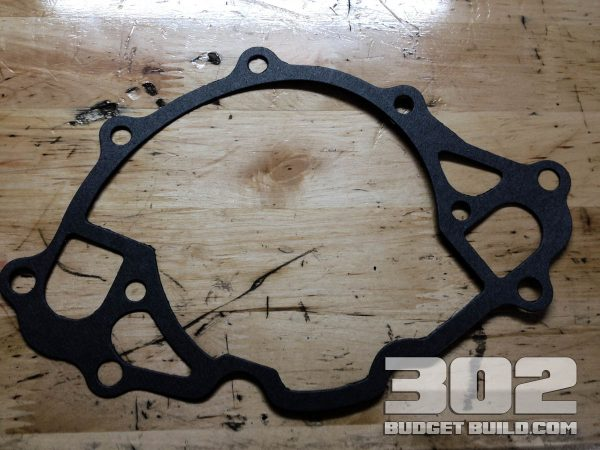 Gasket for water pump.
